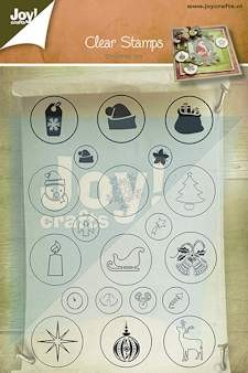 Joy! crafts - Clearstamp - Christmas Joy - 6410/0126