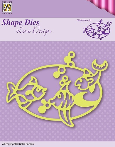 Nellie Snellen - Shape Die - Lene Design - Waterworld