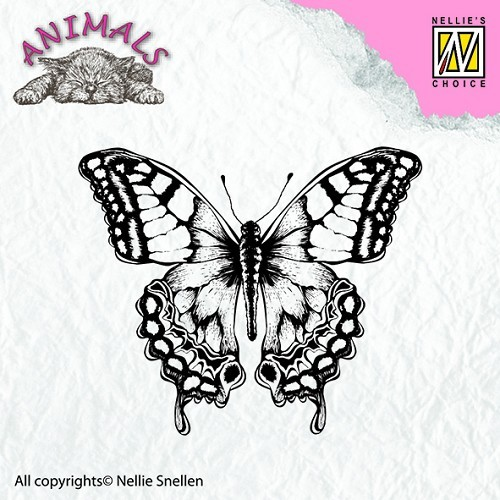 Nellie Snellen - Clearstamp - Animals - Butterfly - ANI010