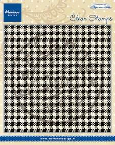 Marianne Design - Clearstamp - Anja`s plaid - CS0938
