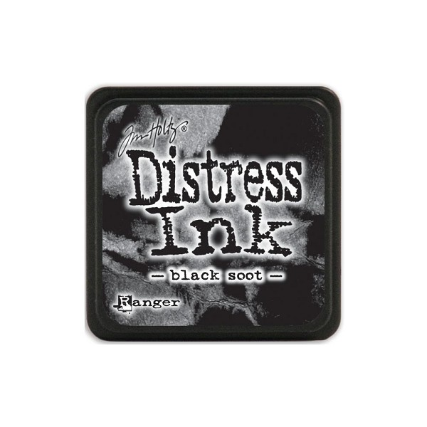 Ranger - Distress Ink - Mini Ink Pads: Black Soot - TDP39860
