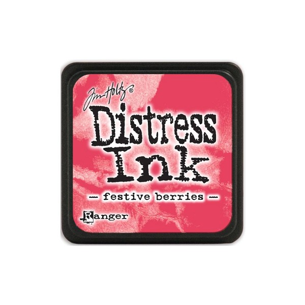 Ranger - Distress Ink - Mini Ink Pads: Festive Berries