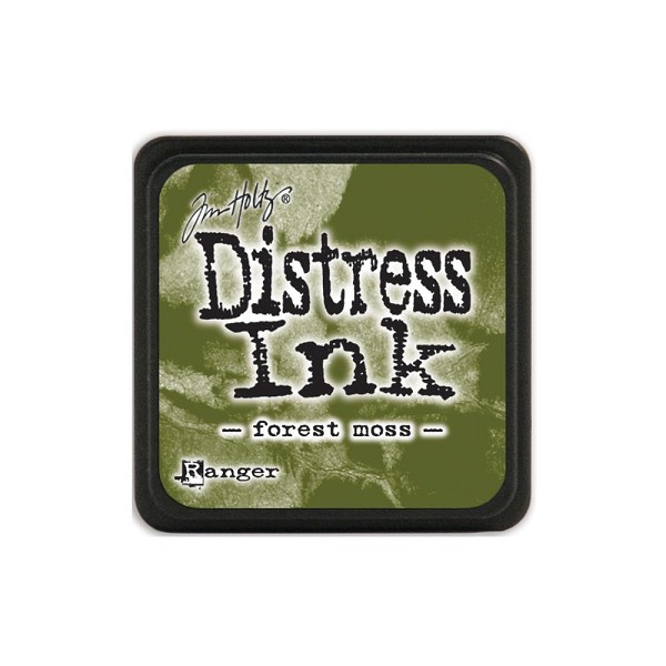Ranger - Distress Ink - Mini Ink Pads: Forest Moss - TDP39983