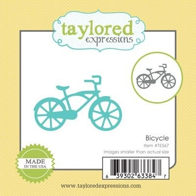 Taylored Expressions - Die - Bicycle - TE567