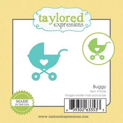 Taylored Expressions - Die - Little Bits - Buggy