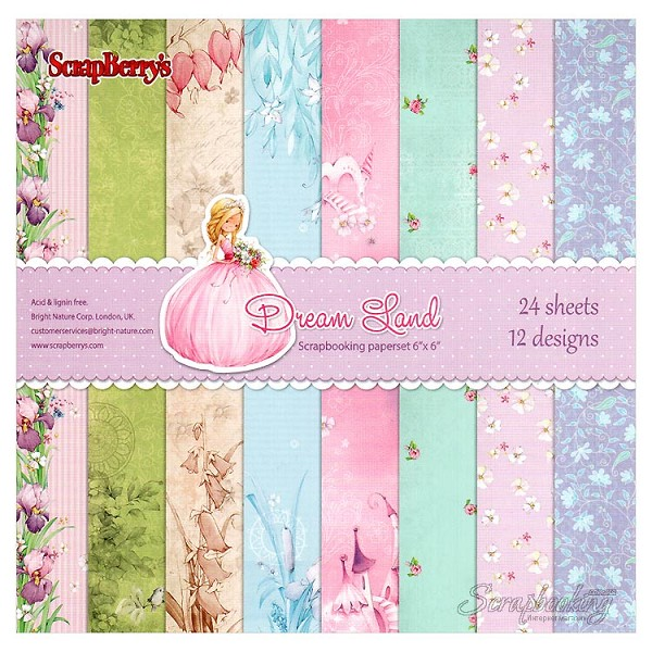 ScrapBerry`s - Paperpack - Dreamland - SCB220604810
