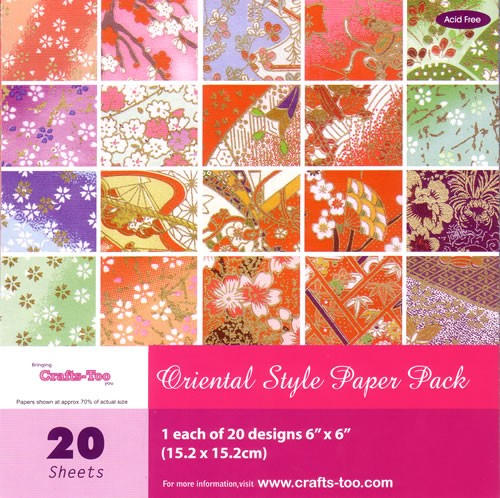 Crafts-Too - Paperpack - Oriental Style - CT20644
