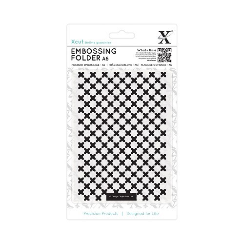 Xcut - Embossingfolder - Moroccan Cross Tiles - XCU515158