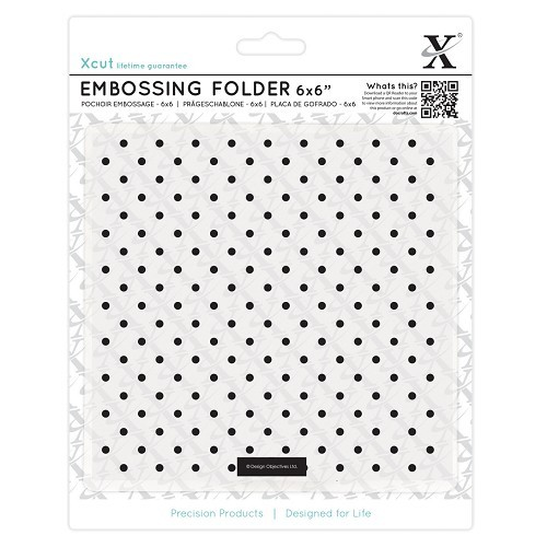 Xcut - Embossingfolder - Small Polka Dot - XCU515170