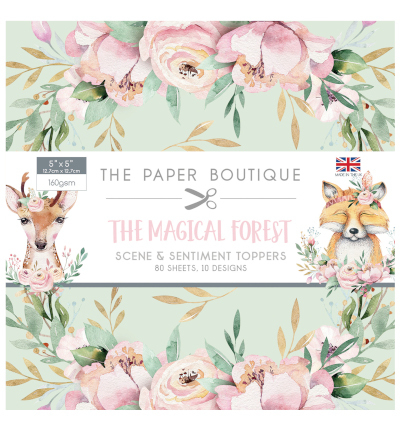Creative Expressions - The Paper Boutique - Paperpack - 127 x 127mm - The Magical Forest - PB1188
