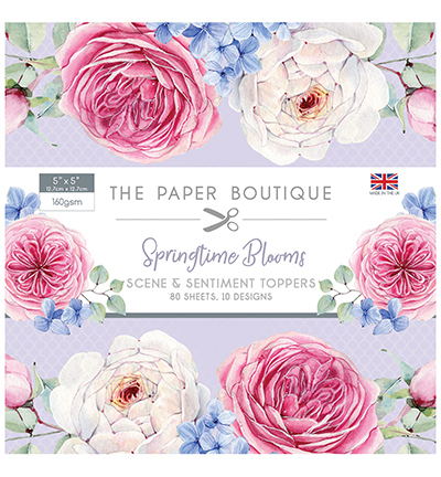 Creative Expressions - The Paper Boutique - Paperpack - 127 x 127mm - Springtime Blooms - PB1181