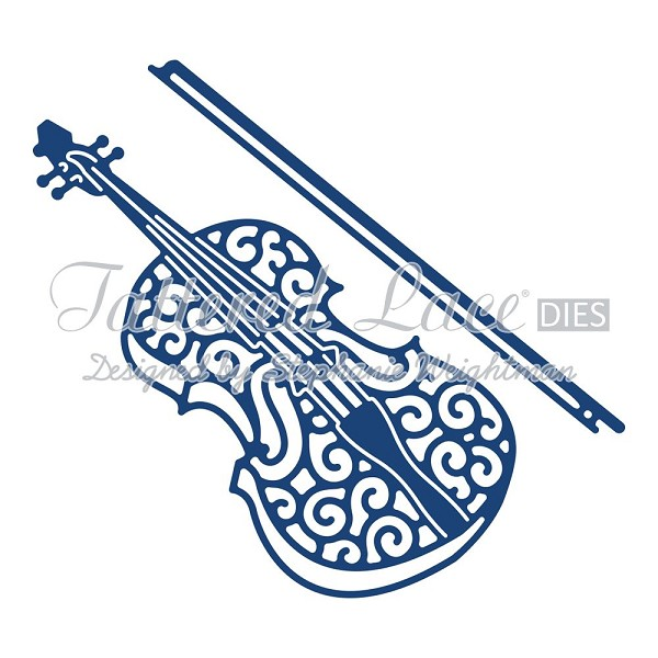 Tattered Lace - Die - Violin