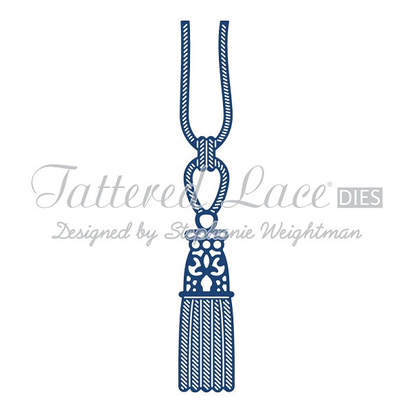 Tattered Lace - Die - Tassel