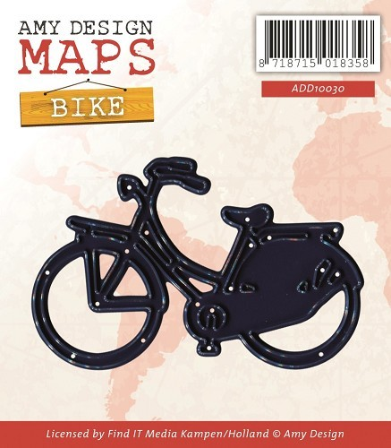 Amy Design - Die - Map Collection - Bike - ADD10030