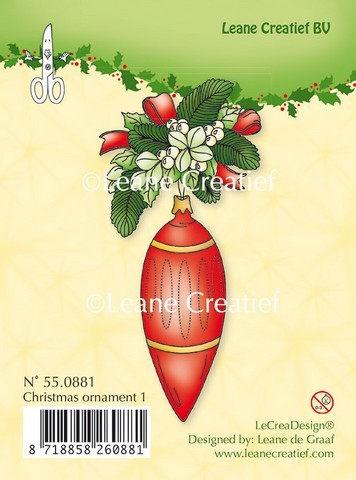 Leane Creatief - Clearstamp - Christmas ornament 1 - 55.0881