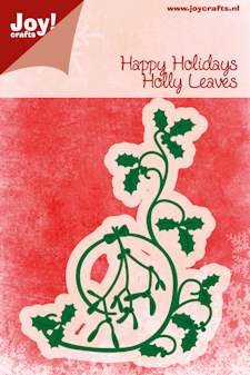 Joy! crafts - Noor! Design - Die - Happy Holidays - Holly Leaves
