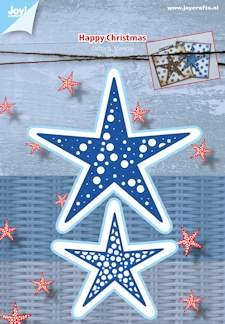 Joy! crafts - Die - Happy Christmas - Stars