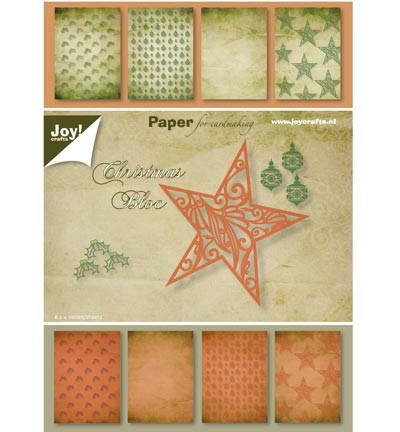Joy! crafts - Paperpack - Christmas Bloc - 6011/0076