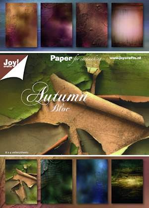 Joy! crafts - Paperpack - Autumn Bloc - 6011/0083