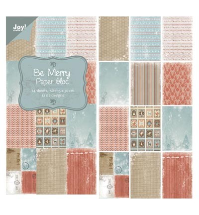 Joy! crafts - Noor! Design - Paperpack - Be Merry - 6011/0318