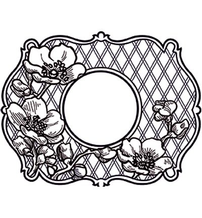Creative Expressions - Cling Stamp - Stamp To Die For - Passiflora - UMS628