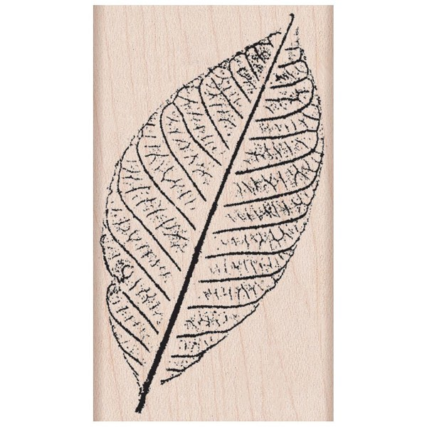 Hero Arts - Houten stempel - Hand Pressed Leaf - G5417