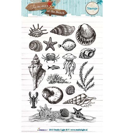 Studio Light - Clearstamp - Summer at the Beach - STAMPSB108