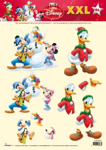 Studio Light - 3D-knipvel A4 - Disney XXL - STAPDIS46