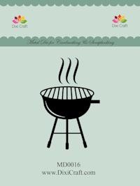 Dixi Craft - Die - Barbeque grill