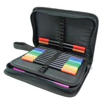 Crafts-Too - Opbergmap - Craft Pen Storage Case - CT23582