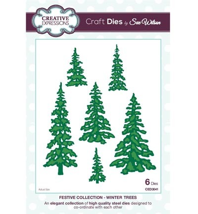 Creative Expressions - Die - The Festive Collection - Winter Trees - CED3041