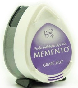 Tsukineko - Inkt - Memento - Dew Drop - Stempelkussen: Grape Jelly MD-500