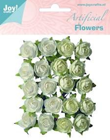 Joy! crafts - Artificial Flowers: wit-creme - 6370/0061