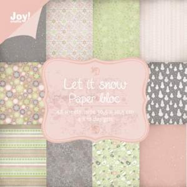 Joy! crafts - Noor! Design - Paperpack - Let it snow - 6011/0708