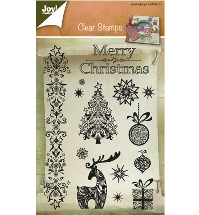 Joy! crafts - Clearstamp - Christmas Joy - 6410/0127