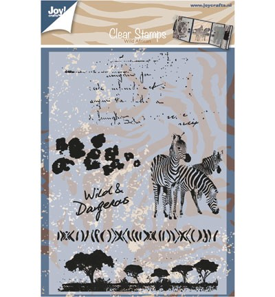 Joy! crafts - Clearstamp - Wild African - 6410/0369