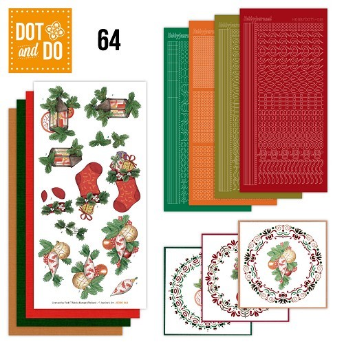 Card Deco - Kaartenpakketten - Dot & Do - No. 64 - Christmas - DODO064