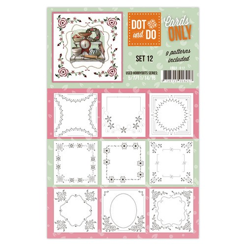Card Deco - Oplegkaarten - Dot & Do - Cards Only - Set 12 - CODO012