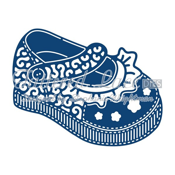 Tattered Lace - Die - Baby Girl Shoe