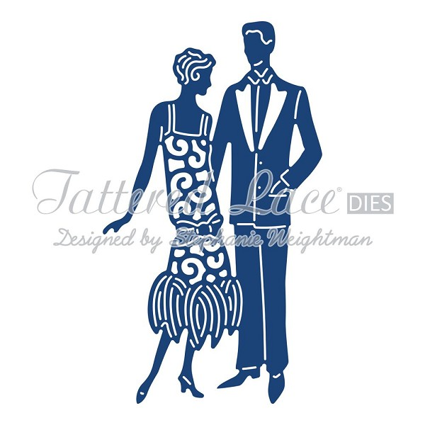 Tattered Lace - Die - Charleston Couple