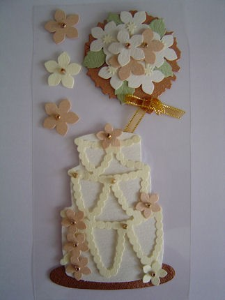 Mark Richards - Embellishments - Cake - 2318