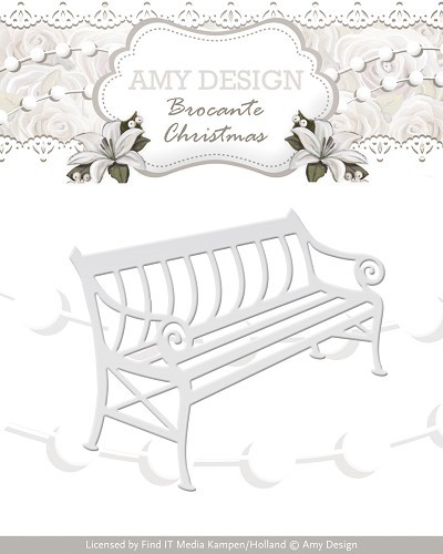 Amy Design - Die - Brocante Christmas - Bench - ADD10035
