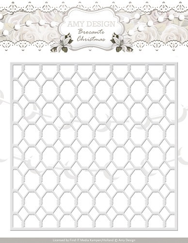 Amy Design - Die - Brocante Christmas - Wire Frame  - ADD10031