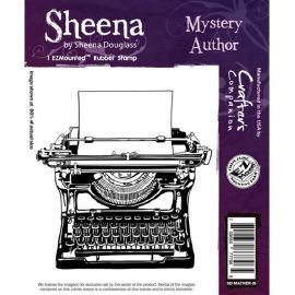 Sheena Douglass - Cling Stamp - Mystery Author - SD-MATHER-IS