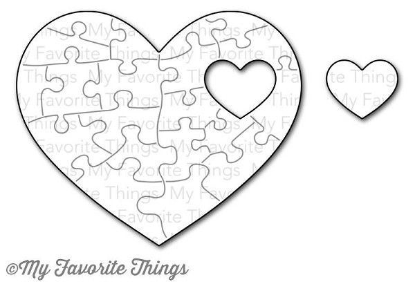 My Favorit Things - Die-namics - Die - Heart Puzzle