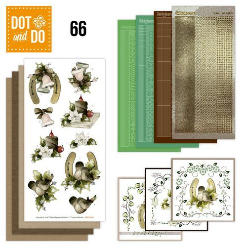 Card Deco - Kaartenpakketten - Dot & Do - No. 66 - Christmas Decoration - DODO066