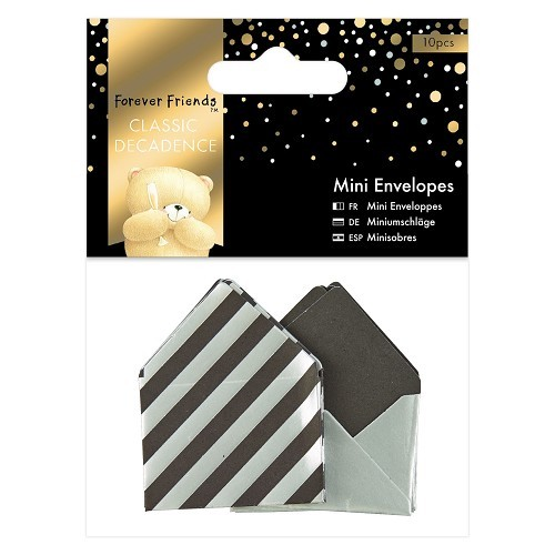 Forever Friends - Mini Envelopes - Classic Decadence: Silver - FFS150142