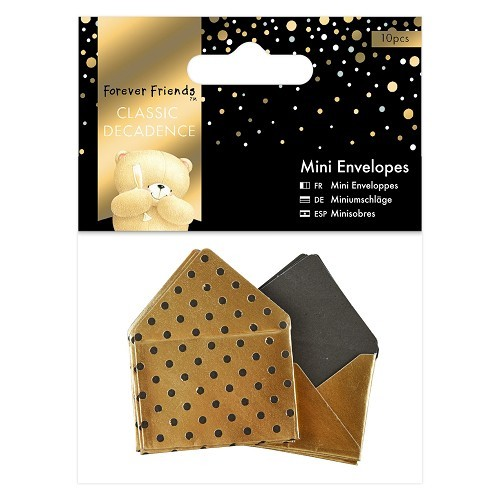 Forever Friends - Mini Envelopes - Classic Decadence: Gold - FFS150141