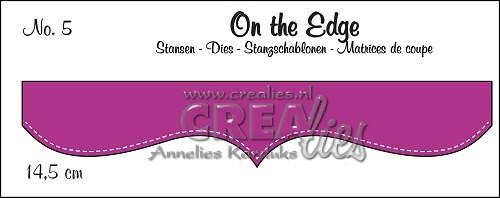 Crealies - Die - On the Edge - No. 05