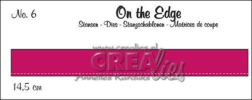 Crealies - Die - On the Edge - No. 06